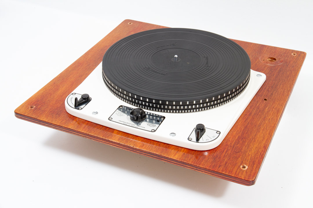 SOLD - Garrard 301 turntable in exceptional original